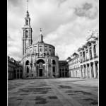 (Fotos) Universidad Laboral de Gijón, esta vez en blanco y negro