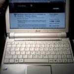 Trasteando con el Asus eeePC, Ubuntu y navegando vía iPhone + Tethering