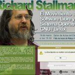 14 de Marzo, 15h, lugar Huesca. Protagonista Richard Stallman #KDDKernelPanicHuesca